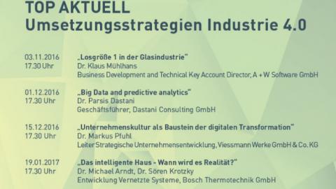 Impulsvorträge: Umsetzungsstrategien Industrie 4.0