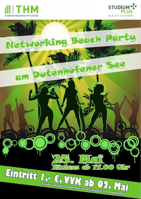 Networking Beach-Party am 25.Mai am Anker