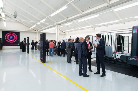 Besichtigung des Innovation Centers von Rittal