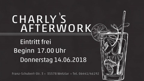 Charlys After-Work – Vol. II | 14.06.2018