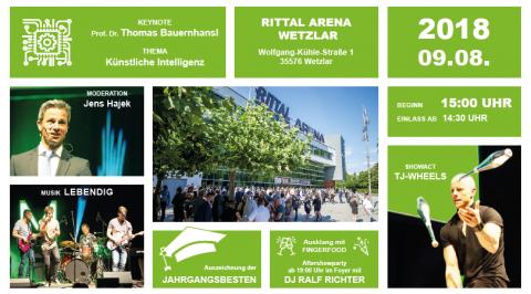 Großes Event zur Absolventenverabschiedung in der Rittal Arena Wetzlar